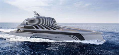trimaran yacht design newwave the new 87m trimaran design concept superyacht