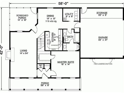 Home Design For 1100 Sq Ft by Eplans Southern House Plan Three Bedroom Southern 1600