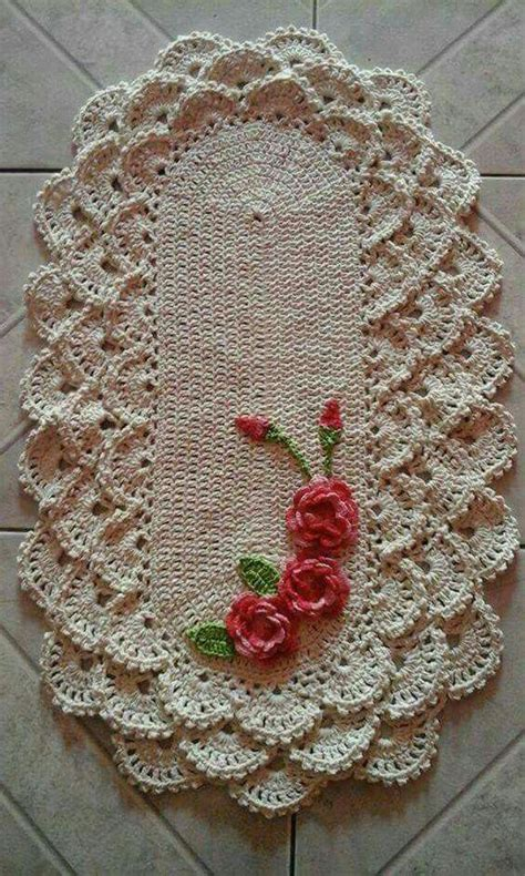 tapetes de croche b43964 tapetes de crochaa pictures to pin on 17 melhores imagens sobre crochet tapetes no pinterest