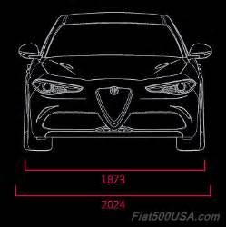 Alfa Romeo Giulietta Length 2017 Alfa Giulia Qv Specifications Fiat 500 Usa