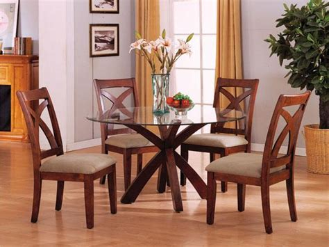 Wood And Glass Dining Table Sets Impessive Modern Glass And Wood Tables And Chairs