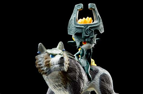 Amiibo Figure Wolf Link wolf link amiibo unlocks enhanced weapons for midna in