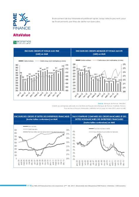 Note de conjoncture sur les PME ETI au 2ème trimestre 2014, avec CM E