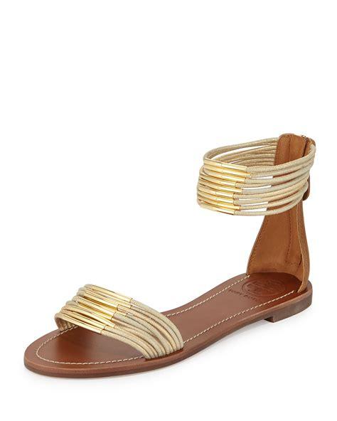 Gold Flat by Burch Gold Flat Sandals Gold Sandals Heels