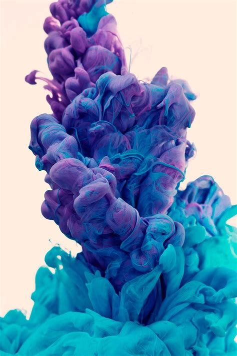 It Looks Like A Puff Of Paint Cool Screen Water Ink Wallpaper Allwallpaper In 8497 Pc En