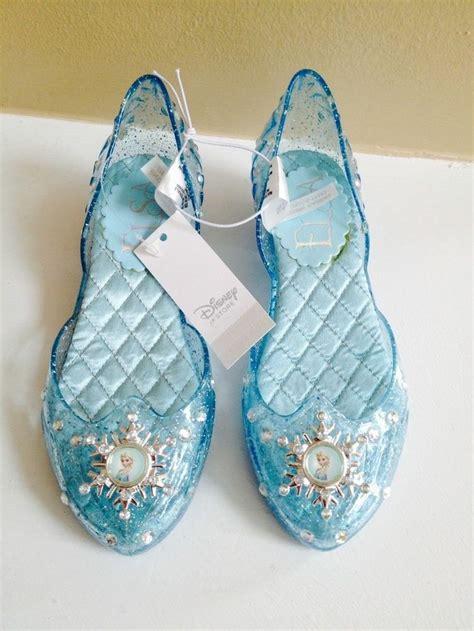 Elsa Light Up Shoes by New Disney Frozen Elsa Light Up Shoes Size 11 12 Costume