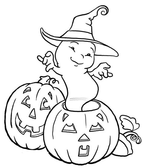coloring pages ghost free halloween coloring pages kids