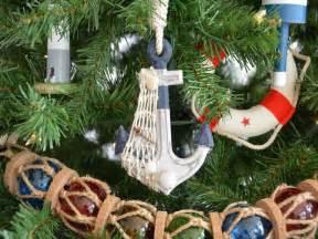 buy rustic blue decorative anchor christmas tree ornament