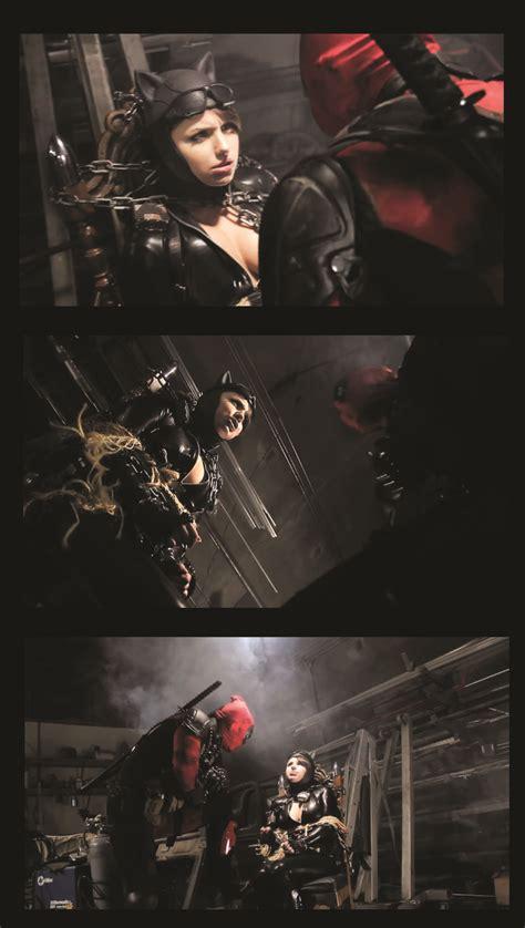 catwomandeadpool batmancatwoman pinterest