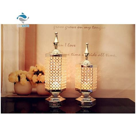 wholesale clear table decoration home goods candle