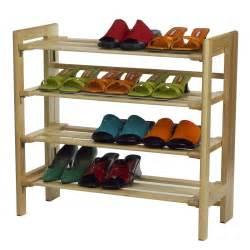 Make My Rack Winsome Shoe Rack 4 Tier By Oj Commerce 81228 57 20