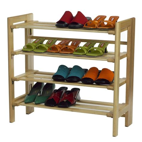 rack of winsome shoe rack 4 tier by oj commerce 81228 57 20