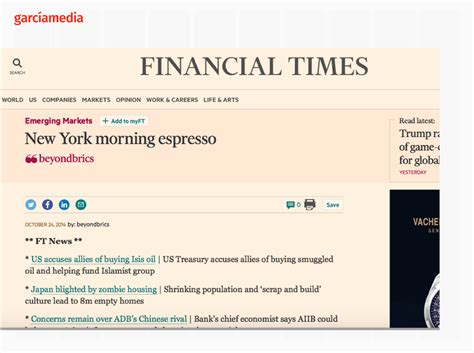 Financial Times Newsletter those email newsletters or briefings gain