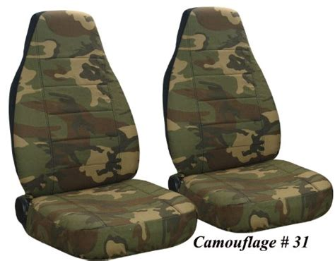Camo Seat Covers For Jeep Wrangler Save 0 04 Army Camo Camo 31 Front Set Seat Covers 97