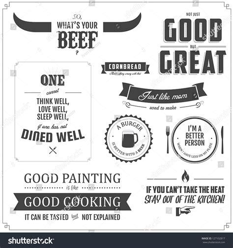 menu design elements set of restaurant menu typographic design elements stock