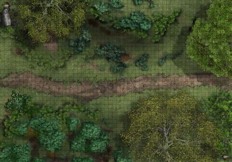 1 Inch Grid Mat by 1 Inch Grid Tabletop Rpg Mats Available In Different Sizes