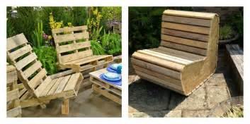 50 id 233 es originales pour fabriquer votre salon de jardin