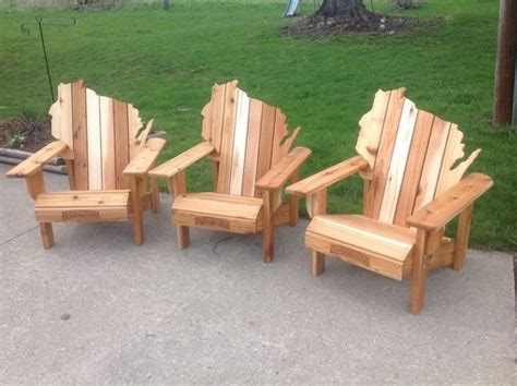 Handmade Adirondack Chairs - handmade cedar adirondack wisconsin chairs with