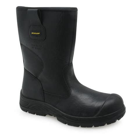 mens steel toe winter work boots dunlop mens winter safety rigger boot steel toe cap