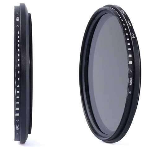 Lf 3in1 77mm fader variable nd filter neutral density nd2 to nd400 for dslr lf308 ebay