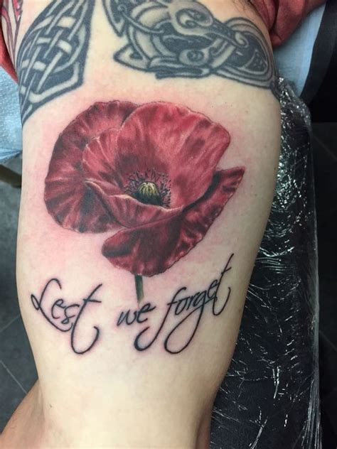 anzac tattoo designs anzac poppy i did today poppies