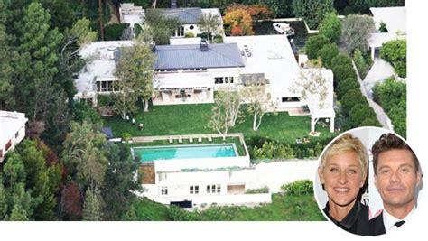 ryan seacrest house ryan seacrest buying ellen degeneres beverly hills estate hollywood reporter