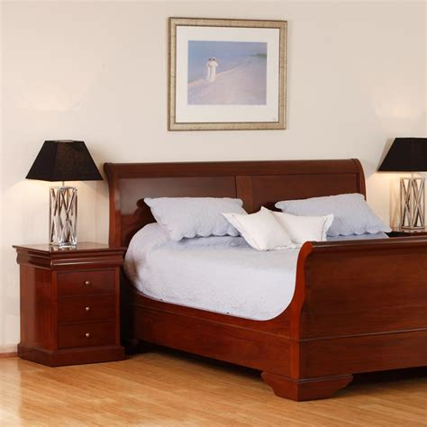 Avignon Bedroom Furniture Avignon Timber Bed And Side Table Pfitzner Furniture Beautiful Individually Crafted