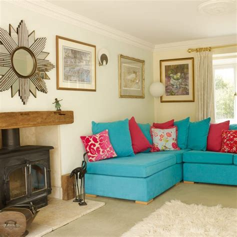 living room design style home top: bold sofa and cushions colourful living room ideas photo gallery