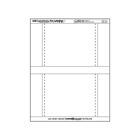 tray card template usdm insert tray card 2 up cdrom2go