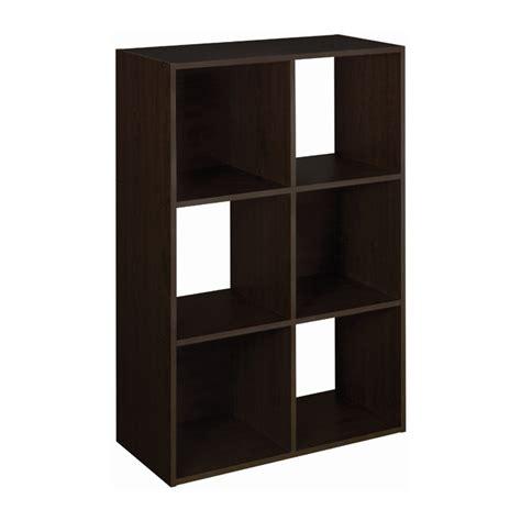 closet organizers rona quot cubeicals quot 6 cube organizer 24 quot x 36 quot espresso rona