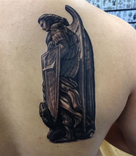 archangel michael tattoo sleeve tattoos book 65 000