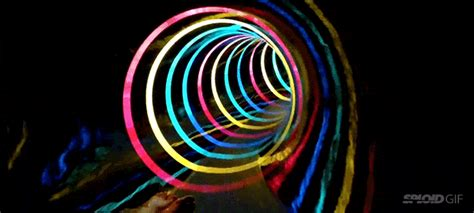 awesome led black hole water slide is like flying through a wormhole gizmodo australia