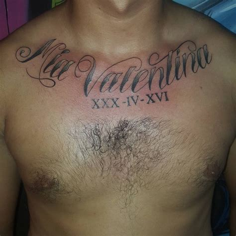 tattoo ideas names on chest 21 name tattoo designs ideas design trends premium