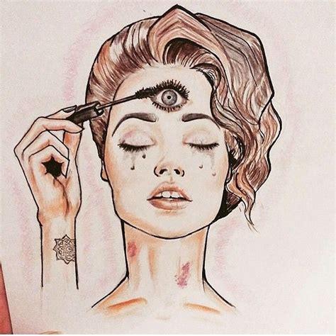third eye tattoo instagram third eye mascara google search soulfire pinterest