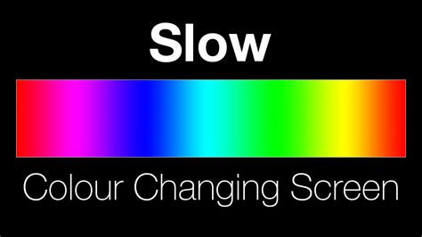 changing color colour changing screen lighting effect