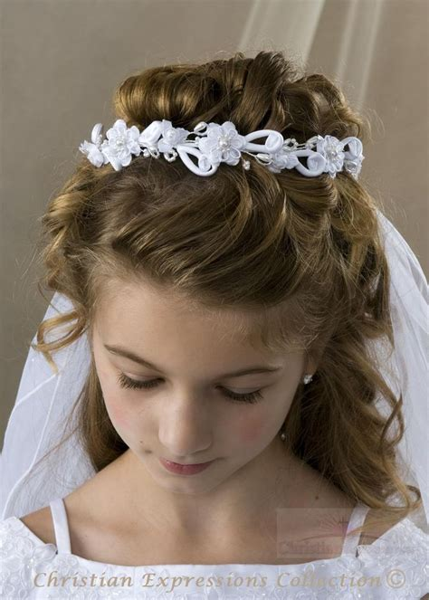 cute hairstyles for first communion 1000 ideas about first communion hair on pinterest