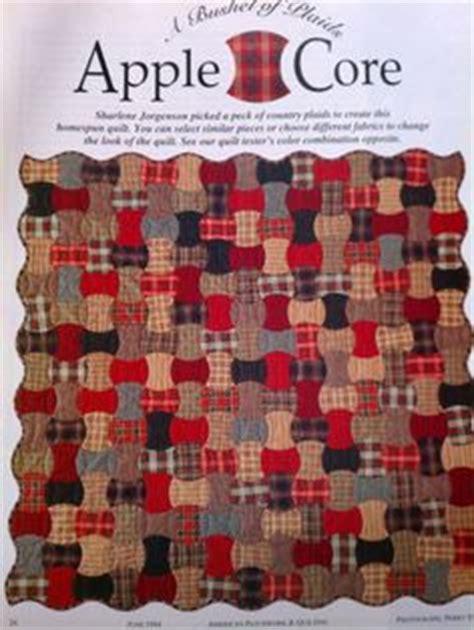 quilt pattern apple core apple core quilts on pinterest lap quilts english paper