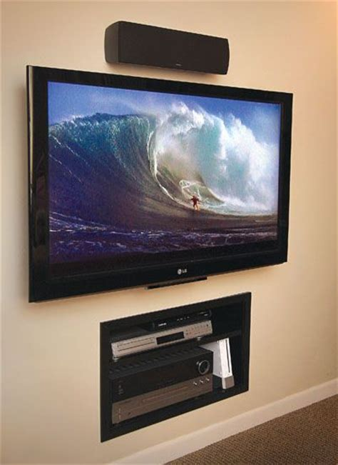 18 chic and modern tv wall mount ideas for living room hanging tvs on walls home decoration