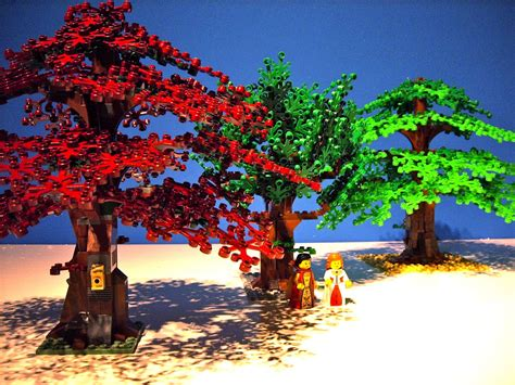 lego ideas beautiful trees