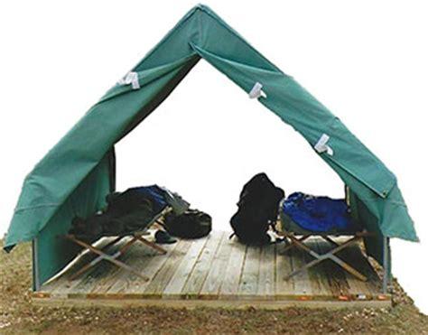 building a tent platform tent platform caign registration