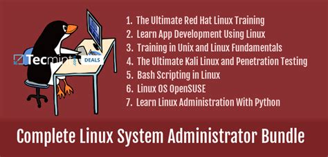 tutorial on linux system administration deal get linux system administrator bundle with 7 courses