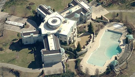 Rick Ross House by 109 Room Holyfield Mansion Bought By Rapper Rick Ross