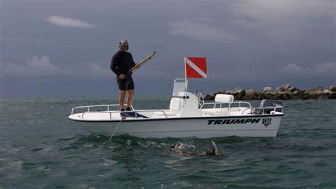 triumph boats test new triumph 1700 skiff