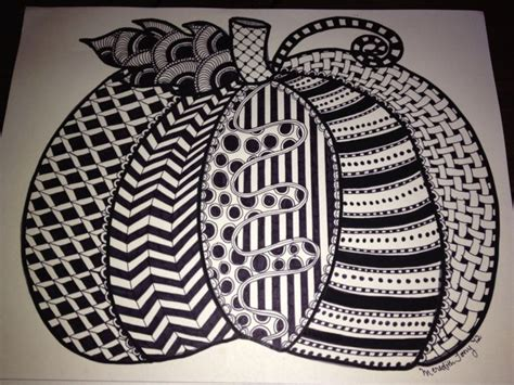 zentangle pumpkin printable 1798 best images about zendoodle doo on pinterest how to