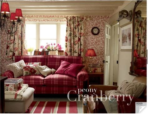 Peony Garden Cranberry Design Ideas Peony Cranberry Cottages Living Rooms