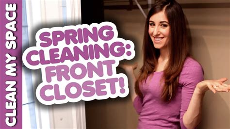 spring cleaning my closet youtube spring clean your front closet youtube