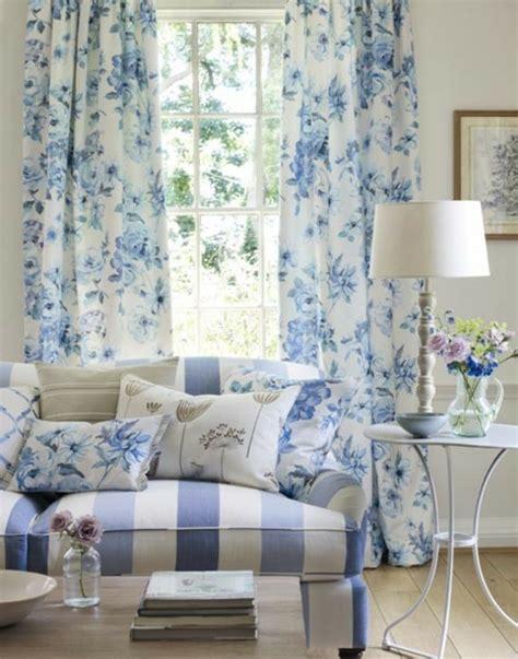 gardinen blau farben und trends bei heimtextilien traditionelle wohnkultur