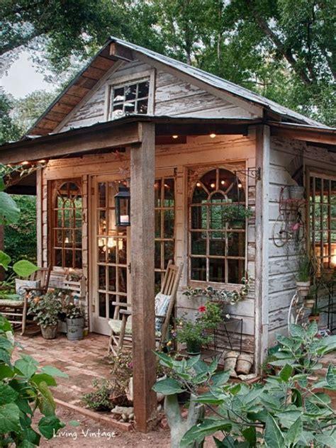 living vintage  sheds  house  hargrove