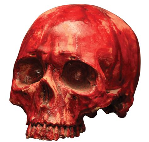 Patriotic Home Decorations bloody resin skull prop decorations amp props