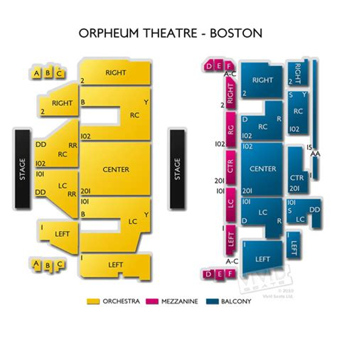 orpheum theatre boston seating chart orpheum theatre boston tickets orpheum theatre